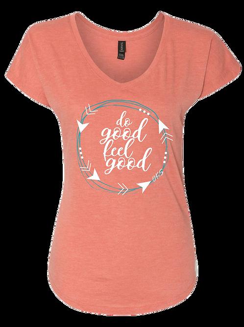 Do Good Women's V-neck