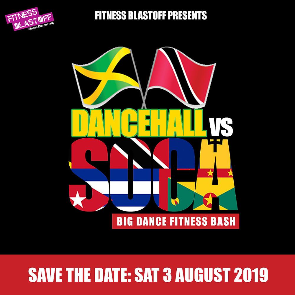 Dancehall vs Soca Flyer