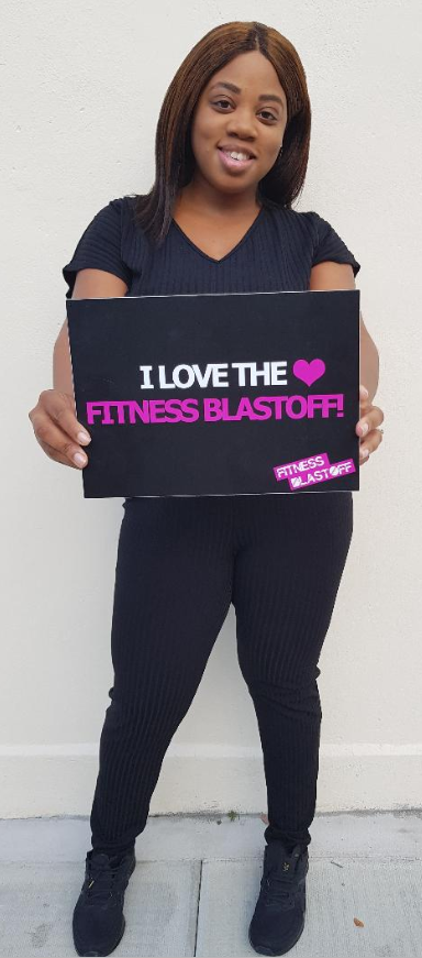 Selena, Fitness Blastoff Founder and Director