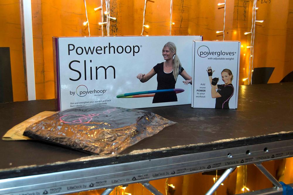 Powerhoop slim and powergloves