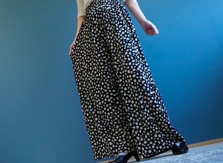 体型カバーもお手のもの。万能パンツの魅力