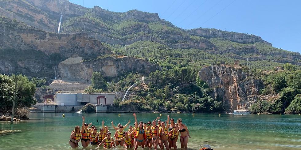 Hiking, Kayaking and Swimming at Cortes de Pallas!