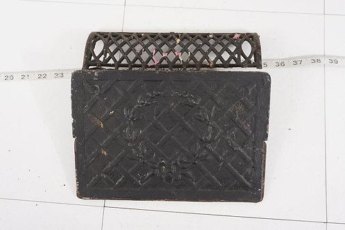 Vintage Cast Iron Grate