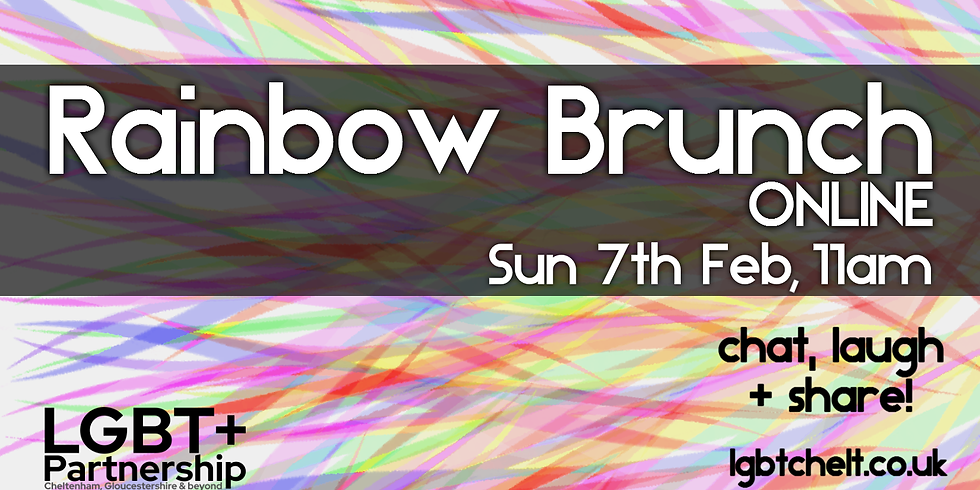 Rainbow Brunch Online - Feb 2021