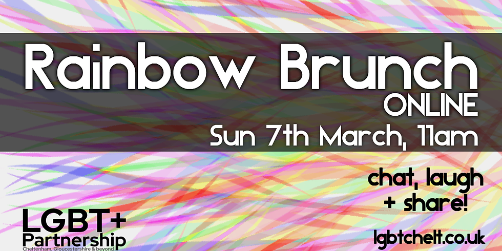Rainbow Brunch Online - Mar 2021