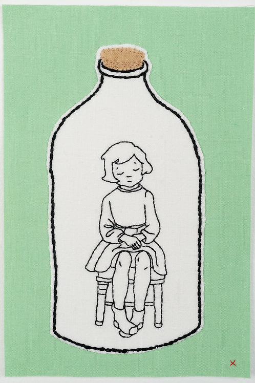 Girl in Bottle
