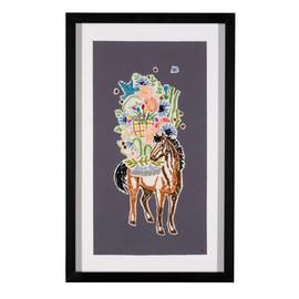Packing for Wonderland: Garden Horse #1