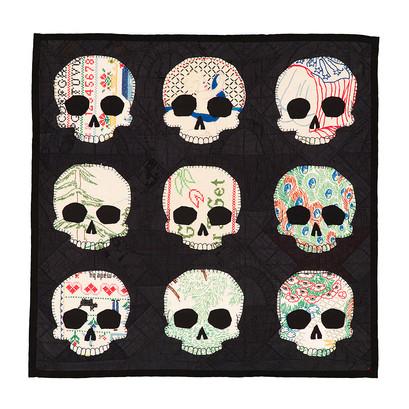 Embroidery Skulls
