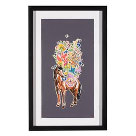 Packing for Wonderland: Garden Horse #2