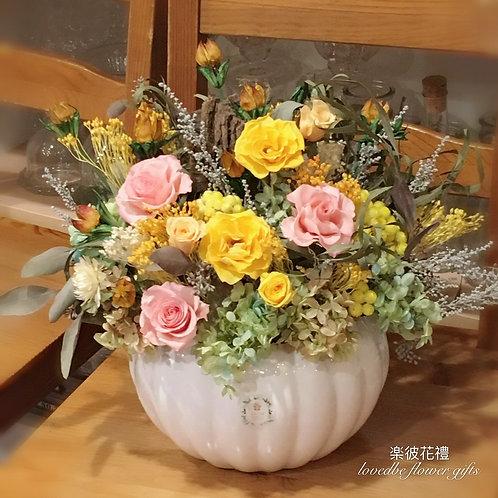 不凋花-(桌花)014