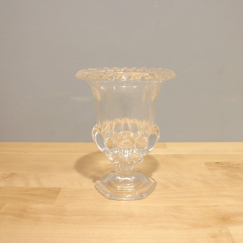 古典風透明花器