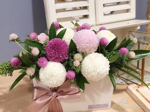 訂製盆花(桌上款)005