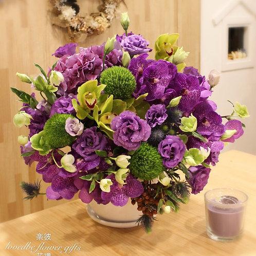 訂製盆花(桌上款)007