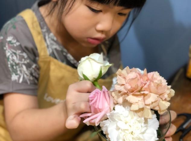 兒童花藝四季5感體驗
