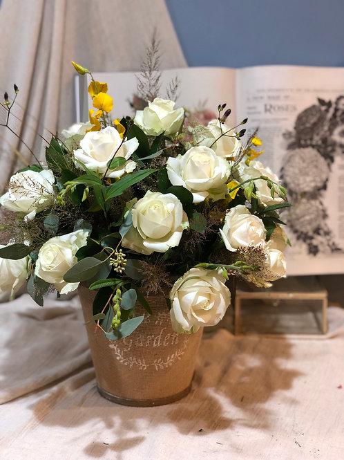訂製盆花(桌上款)011