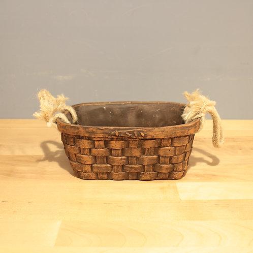 藤籃造型花器