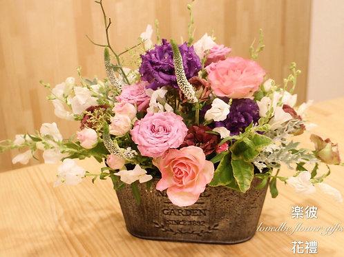 訂製盆花(桌上款)002