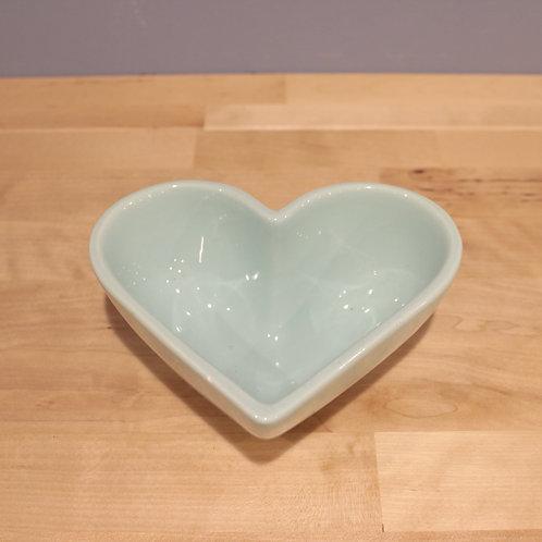 藍色愛心造型花器