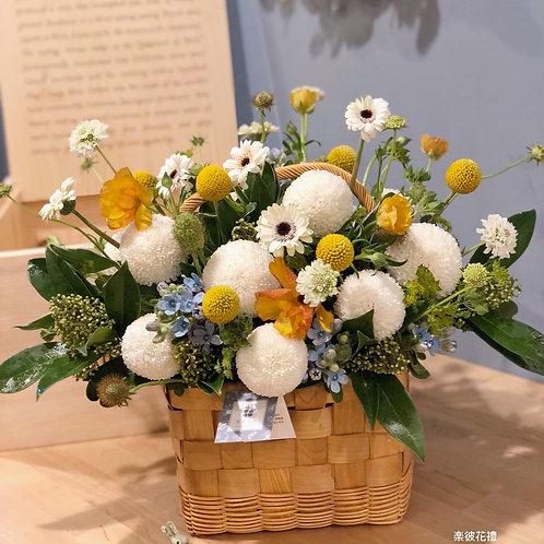 訂製盆花(桌上款)001