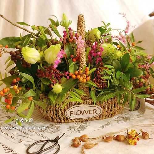 訂製盆花(桌上款)008