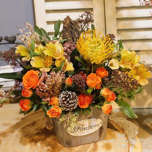 訂製盆花(桌上款)010
