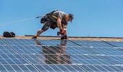 solar panel installation, solar panels, solar roof