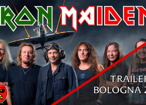 Ecco il trailer per il concerto degli Iron Maiden a Bologna del 2021!