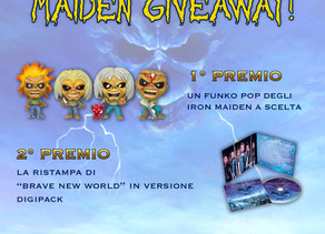 Vinci un Funko Pop degli Iron Maiden o la ristampa di Brave New World con Iron Maiden Italia e EMP!