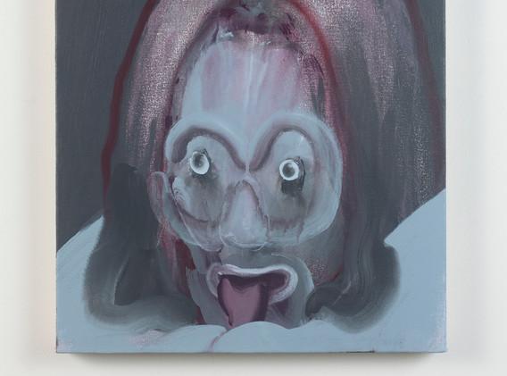 Sam Weber Pleaser acrylic on canvas 20 x 15 inches 2020