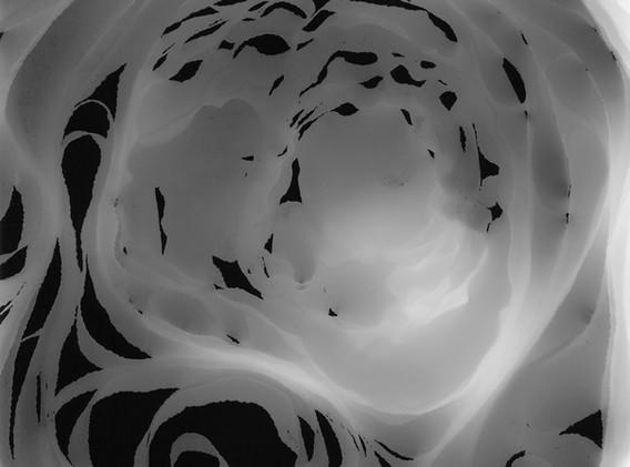 Judyta Grudzien Untitled #3 unique silver gelatin photogram on fiber paper 8 x 10 inches 2017