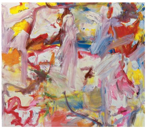 Willem de Kooning  Untitled XVI  1975  oil on canvas  70 x 80 inches (177.8 x 203.2 cm)  Private Collection