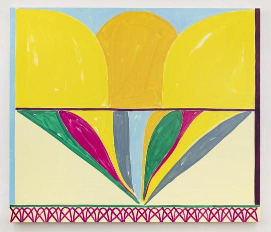 Jason Stopa  Sound of Joy, 2021  Oil on canvas  40h x 47w in (101.60h x 119.38w cm)
