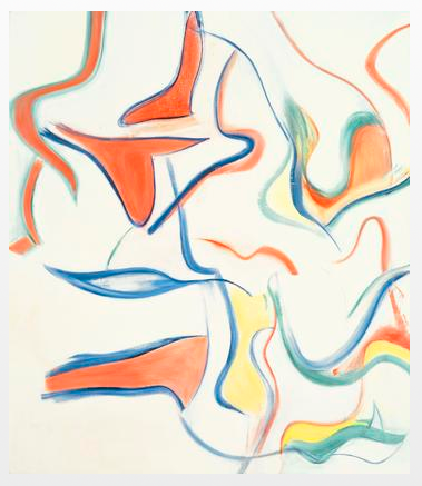 Willem de Kooning  Untitled III  1983  oil on canvas  88 x 77 inches (223.5 x 195.6 cm)  Private Collection