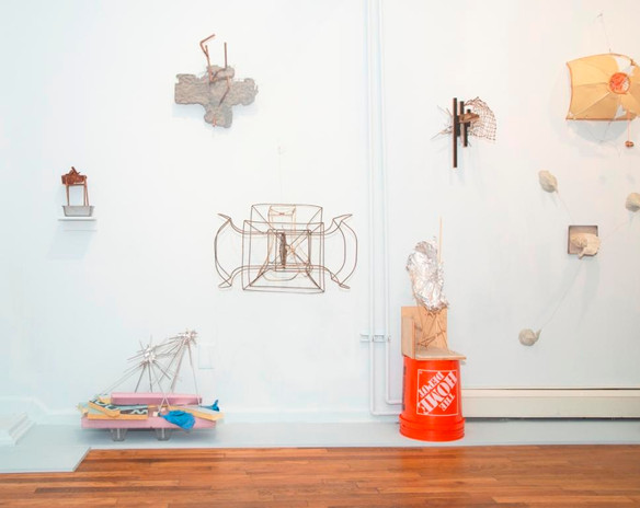 """Installation view of """"Mutual Convergence"""""""