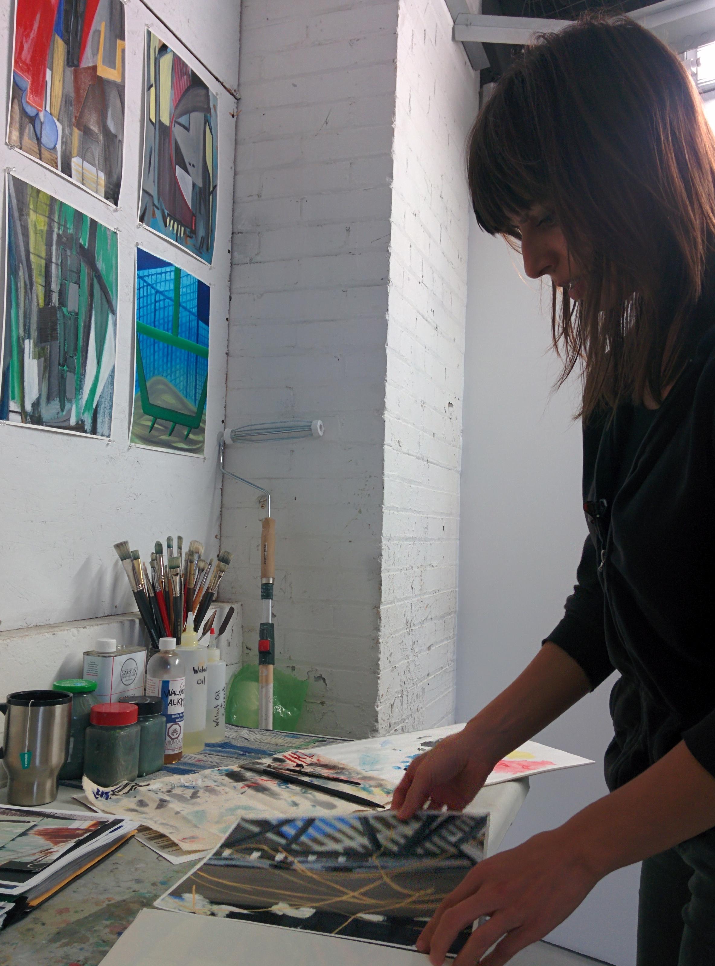 Studio Visit with Milena Roglic