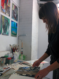 Studio Visit with Milena Roglic