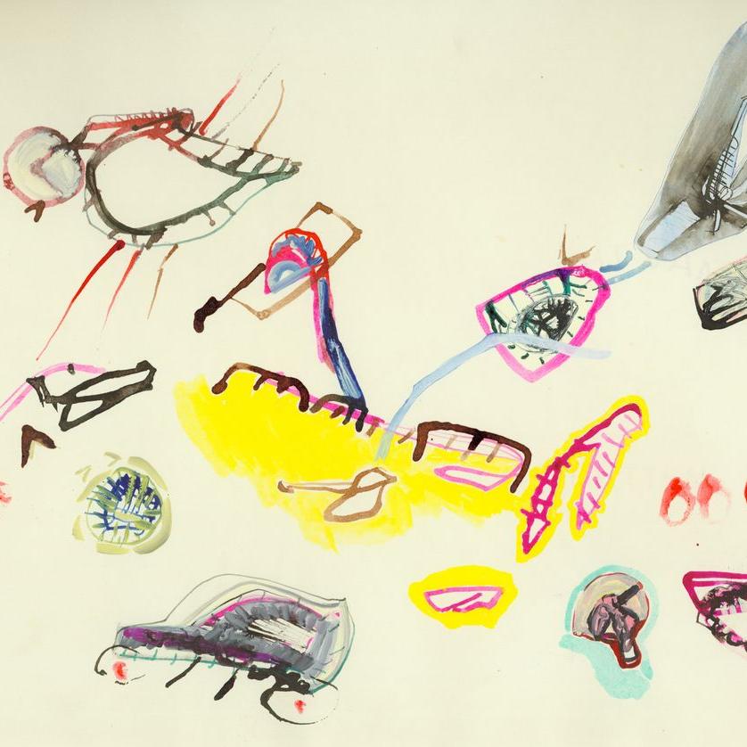 Eva Hesse Drawings: Hauser & Wirth