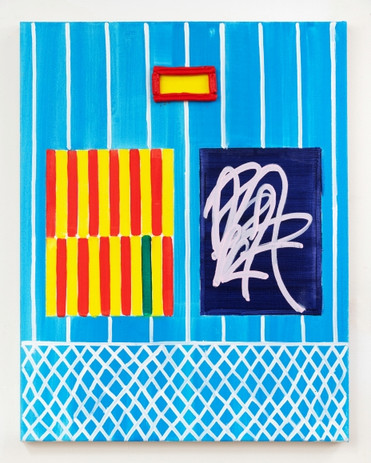 Jason Stopa  The Gate II, 2020  Oil on canvas  28h x 23w in (71.12h x 58.42w cm)