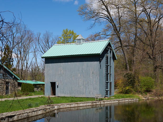 Exterior photo of the Ice House, August 2020, Photo credit Kyle Knodell