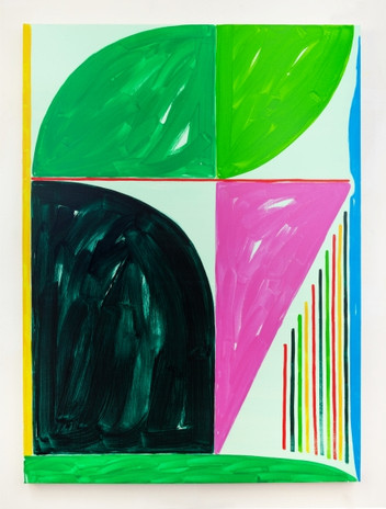Jason Stopa  Bay of Harmony, 2021  Oil on canvas  55h x 41w in (139.70h x 104.14w cm)