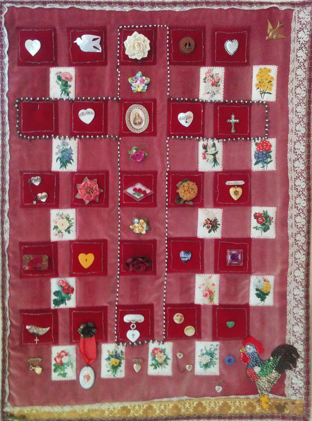 Hearts and Flowers, circa 1990