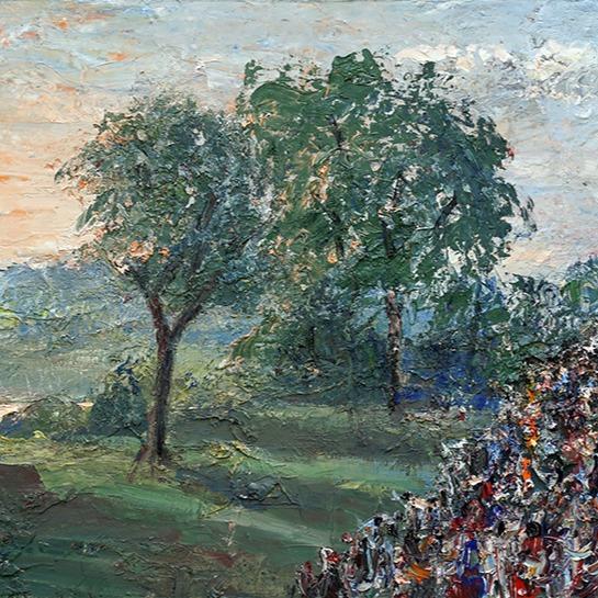 John Bradford at Anna Zorina Gallery