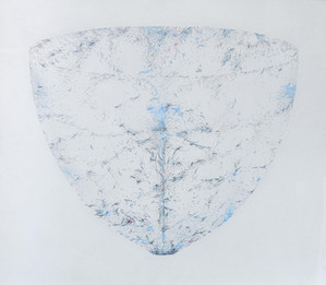 ALAN STEELE Gateless Barrier, Distance Between Expanding Fragments, 2017 Pen and Ink on Museum Board 30 ¼ x 34 ½ in. Courtesy Lichtundfire