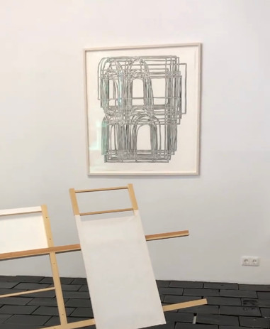 Install with Gestell in foreground and Alexander Series 1 in back, by Frauke Schlitz.jpg