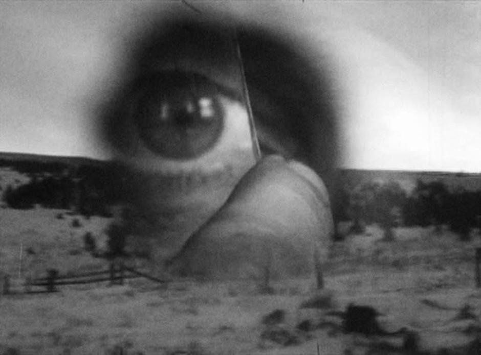 """Robert Frank Film Still """"The Tunnel"""" 2004"""