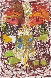 Pat Passlof Untitled, 1965 Oil on linen 36 x 24 inches Image credit: Milton Resnick and Pat Passlof Foundation.