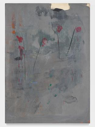 Mary Lovelace O'Neal  Try a Little Tenderness  circa early 1990s  mixed media on canvas  84 x 60 inches (213.4 x 152.4 cm)