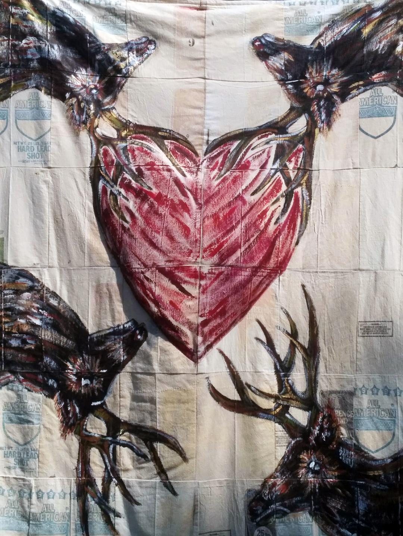 Elk Heart, circa 1990