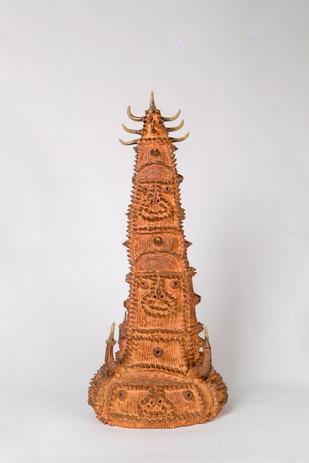 Shinichi Sawada Untitled (118), 2006-2010 Wood fired ceramic 21 1/4 x 9 7/8 x 9 7/8 in