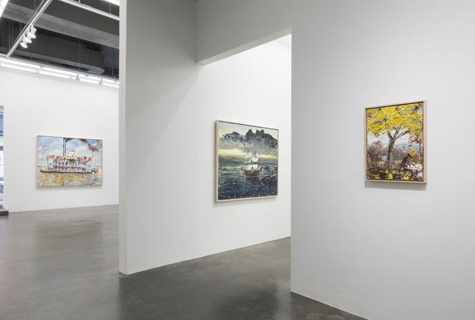 installation view; photo by Stan Narten
